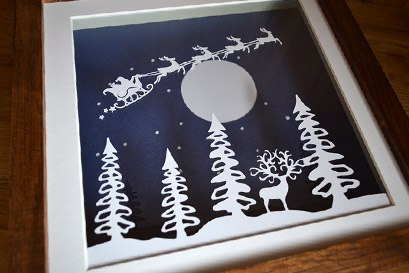 Christmas paper craft sale
