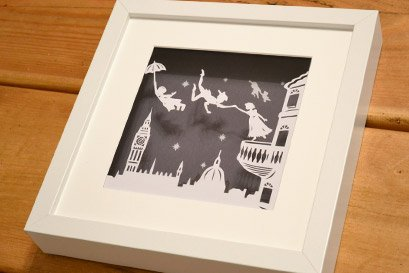 PeterPan original papercut