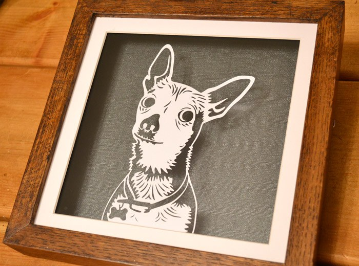 Chiwawa personalised art