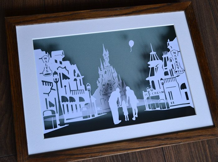 Disneyland Paris Papercut