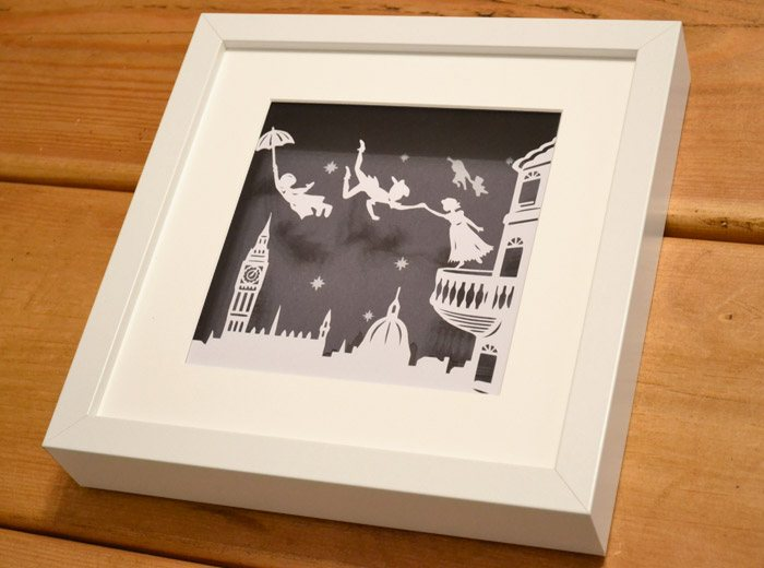 Peter pan Papercut
