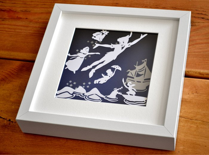 peterpan framed art