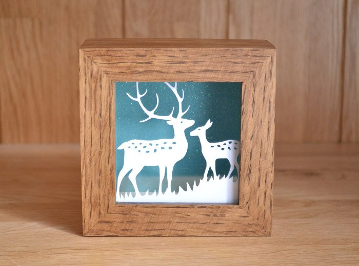 Reindeer Mini Paper cut