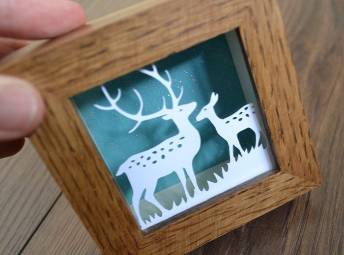 deer Papercut design