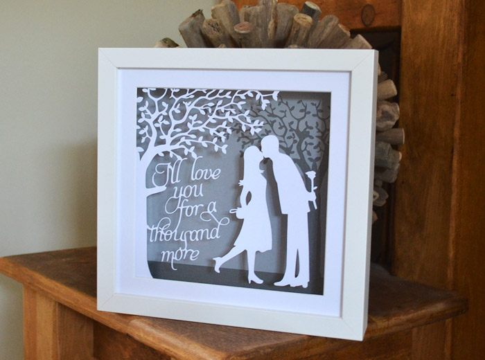 the kiss papercut